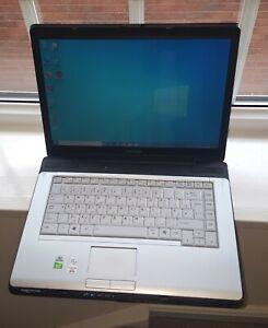 Toshiba Equium A200-1V0 PSAF5E Laptop Notebook Windows 10 Pro 2GB 120GB SSD