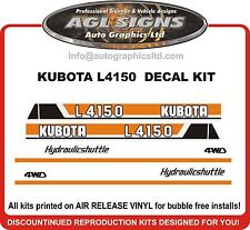 KUBOTA L 4150 Hydraulicshuttle Decal Set , reproductions  L 3750 L 3350