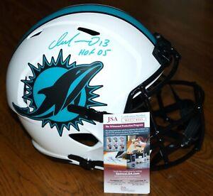 "DAN MARINO ""HOF 05"" Signed Miami Dolphins LUNAR Full Size Helmet + JSA WIT574105"