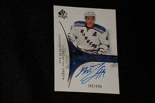 MICHAEL DEL ZOTTO 09-10 SP AUTHENTIC CERTIFIED AUTHENTIC SIGNED AUTOGRAPH CARD