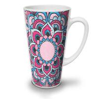 Hindu Lotus NEW White Tea Coffee Latte Mug 12 17 oz | Wellcoda