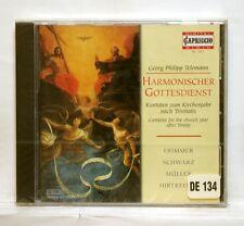 MONIKA FRIMMER - TELEMANN cantatas for the church CAPRICCIO CD STILL SEALED