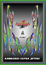 KAWASAKI ULTRA 250X 300X   Graphics Kit Jet Ski Graphic Kit Decals Jetski BEAST