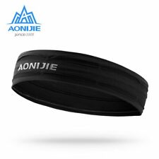 Workout Headband Non-slip Sweatband Wrist Band Soft Stretchy Bandana Gym Fitness