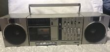 Vintage Toshiba RT-SX3 Boombox Radio Cassette Player Stereo Equalizer Japan