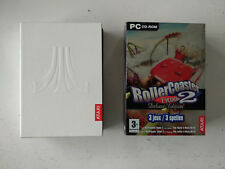 Coffret Deluxe edition 2 extensions pour RollerCoaster Tycoon 2 PC FR