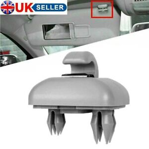 Sun Visor Clip hook Bracket for Audi A1 A3 A4 A5 Q3 Q5 8U0857562A Grey UK