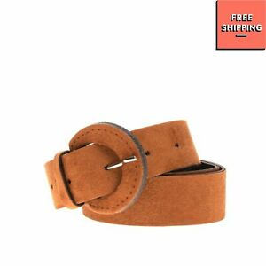 Hip Belt Size 75/30 Suede Effect Pin Buckle Closure