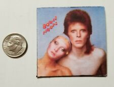 Miniature record album Barbie 1/6  Figure Playscale David Bowie Pin ups