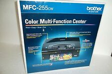 Brother Color Multi-Function Center Print Fax Copy Scan Inks Wi-Fi MFC-255CW NEW
