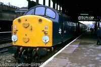 British Rail Class 40 40 027 Manchester Victoria 08/10/82 Rail Photo B