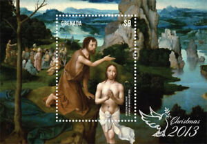 Grenada- Xmas Stamp- Souvenir Sheet MNH