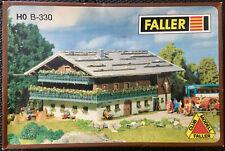 FALLER B-330 NIB Gasthof Alpenhotel - Alpenhaus Kit, HO (hard to find)