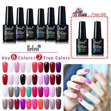Belen 10ml Soak Off Gel Polish Nail Art UV LED Sealer Base Coat Manicure