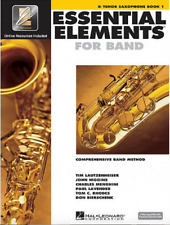 Essential Elements for Band, Alto Saxophone, Book 1