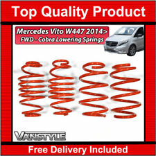 MERCEDES VITO W447 2014+ FWD COBRA SPORT -30/45MM LOWERING SPRINGS
