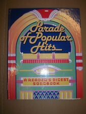READER'S DIGEST SONGBOOK: Parade Of Popular Hits with Lyric book