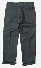 Dickies Skate Chino Pants Trousers Work Slim Fit Charcoal Grey in 36/34