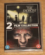 The Exorcist & The Rite DVD 2 film collection new and sealed