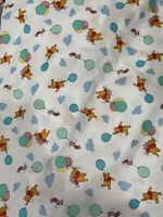 Winnie The Pooh Fabric Disney 1 Yard X 72 Inches Cotton Fast Shipping