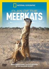 CLAN OF THE MEERKATS NEW DVD NATIONAL GEOGRAPHIC Survival In The Kalahari Desert