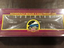 "MTH 20-97502 ""O Scale"" Northern Pacific Wood Chip Hopper w/Chip Load Car, NIB"