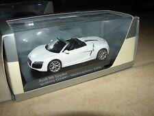 quattro GmbH,Weihnachten 2009, Audi R8 Spyder, Sondermodell, limitiert, 1:43