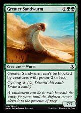 Greater Sandwurm NM X4 Green Common Amonkhet MTG