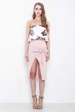 Morrisday Infinity Wrap Skirt Pink