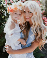 Toddler Girls Princess Dress Kids Baby Party Wedding Pageant Lace Tutu Dresses