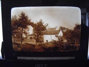 large glass slide Photograph half plate c 1900 Newlands valley nr Ulverston