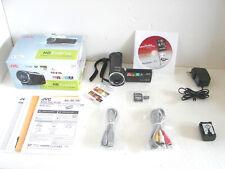 JVC Everio GZ-E100 E100BU HD AVCHD Flash Memory Camcorder 40x Optical Zoom