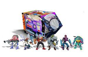 PX Exclusive Playmates TMNT Mutant Module Retro Villains 6-Pack (NEW)