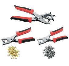 kit 3 pinces a sertir  oeillets / boutons / emporte pièce  / Trou pour ceinture
