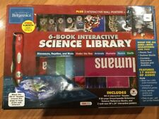 New ENCYCLOPEDIA BRITANNICA INTERACTIVE SCIENCE LIBRARY Kids Education Kit