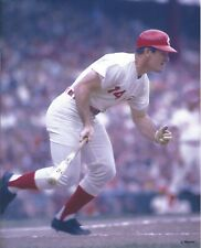 8x10 photo baseball Pete Rose, Cincinnati Reds in the batter's box