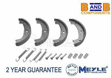 BMW E39 HAND BRAKE PARKING SHOE + FITTING KIT MEYLE GERMANY 34416761292 A806