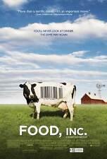 FOOD, INC. Movie POSTER 11x17 B Michael Pollan Eric Schlosser