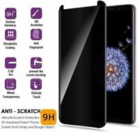 NEW Full Coverage Privacy Tempered Glass Screen Protector for Samsung Galaxy S9