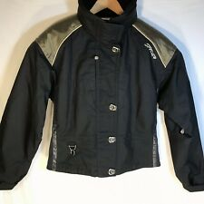 Spyder Picabo Street Women's Black Winter Ski Jacket - Size 10 XTL Thinsulate A2