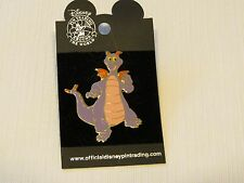 Epcot Disney Purple Dragon Figment of Imagination Dancing Standing Pin tie tac