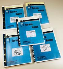 INTERNATIONAL 2500 SERIES A & B DIESEL BACKHOE LOADER TRACTOR SERVICE MANUAL OH