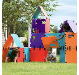 32-Piece Mighty Fantasy Forts Color Block Set Special (hs,a) M8
