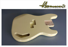 Corps Aulne pr Telecaster non Ponce Unfinshed Tele Guitar Body Alder 2Pcs ToSand