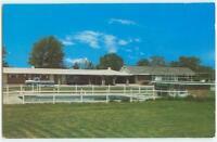 Tahlequah Oklahoma Hillcrest Motel 1960s Chrome Postcard 24597