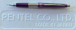 Purple Pentel 5 Sharp Kerry Mechanical Pencil w/ Cap   New   P1035-VKS 0.5mm