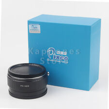 Camera Focal Reducer Speed Booster Adapter For Pentax PK Lens to Sony NEX A6000