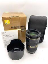 Nikon Nikkor 24-70mm f/2.8G ED (Non-VR) Lens