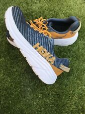 hoka one one rincon Blue And Orange U.K. Size 8 Covered 26 Miles On A Canal Path