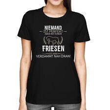 Friese Damen T-Shirt Spruch Perfekt Geschenk-Idee Pferde Motiv Reiterin Lustig